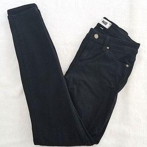 PAIGE Verdugo Ultra Skinny Jeans Black Size 27*30